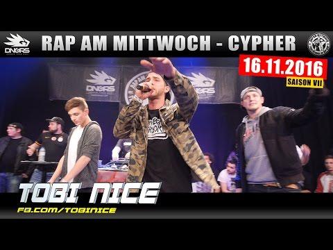 RAP AM MITTWOCH KÖLN: 16.11.16 Die Cypher feat. TOBI NICE, LYRICO, BUY SOME uvm. (1/4)