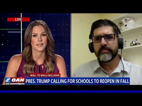 Wall to Wall: State Sen. Manny Diaz Jr. On Schools Reopening in Fall