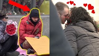 Homeless Man Goes on His First Date Ever For VALENTINES DAY! (Romantic)