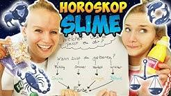 HOROSKOP SLIME Welcher Schleim passt zu dir? Mach den Test! Kathi & Ninas machen persönlichen Slime