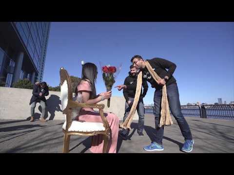 Amazing Bollywood Flash Mob Proposal in New York