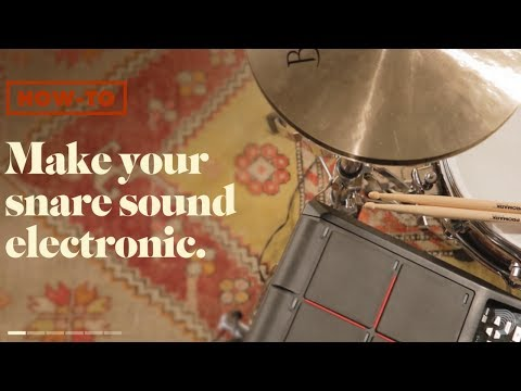 Evans Drumheads: How-To Make Your Acoustic Snare Sound Electronic