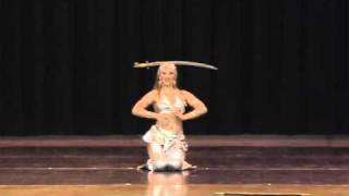 "Rasa Vitalia: Creative Belly Dance - ""United We Dance"" at Raqs LA 2011"
