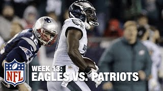 Malcolm Jenkins Gets Amazing 100-Yard Pick 6 Against Tom Brady! | Eagles vs. Patriots | NFL