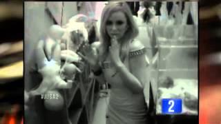 Jhendelyn Nuñez en la Pieza Oscura de Juga2 - TVN (25/07/14)