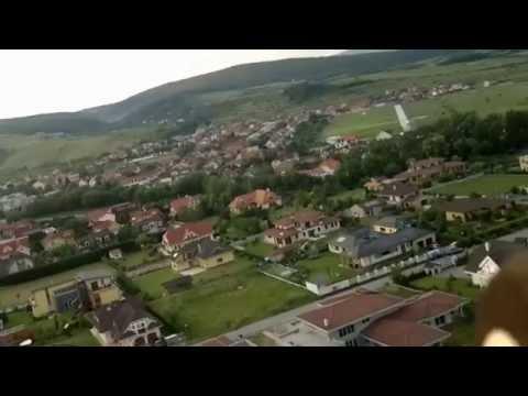 Flying over Limbach,Pezinok,Slovakia