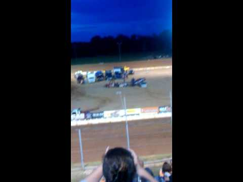 A day at the  east Alabama motor speedway