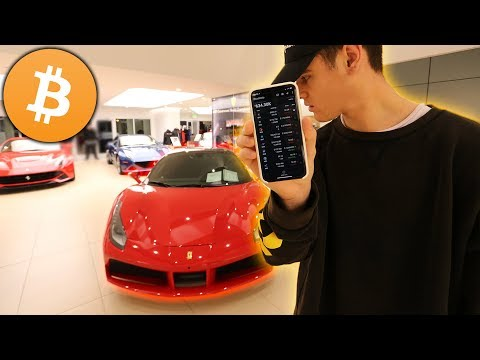 I Bought My Dream Car Using Only Bitcoin... ($250,000 Ferrari)