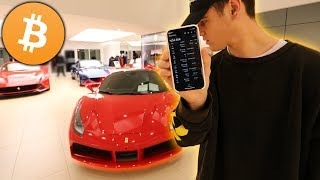 I Bought My Dream Car Using Only Bitcoin... ($250,000 Ferrari) | David Vlas