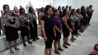 Culto de Missões(G.M.M)Grupo M. de Mulheres(I.E.Q) C. Damião. 16-12-2018.