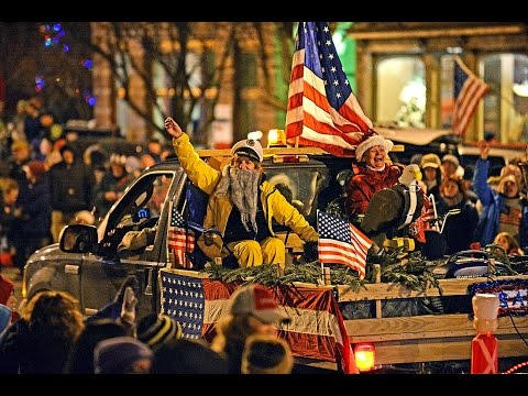 Live broadcast at 2016 Clayton NY Christmas Parade