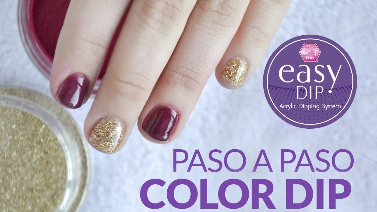 Como aplicar los Color Dip de Easy Dip por Laura Guzmán / Magic ...