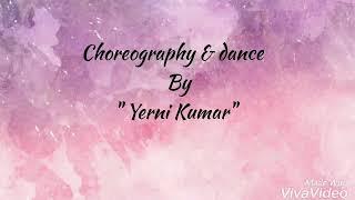 Arya 2 //Uppenantha ee  premaki# song dance  performance by Gitam student  #yerni Kumar