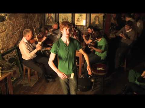 St. Patrick's Day Session from Dublin Clip 4 - Traditional Irish Music from LiveTrad.com