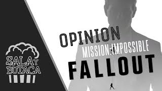 OPINION `Mission Impossible FALLOUT´ De Christopher McQuarrie - SalaYButaca