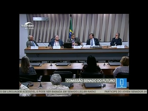 Comissão Senado do Futuro - TV Senado ao vivo - CSF - 18/06/2018