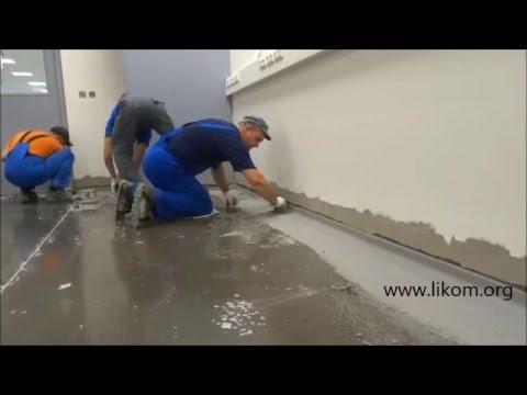 цементный раствор плинтуса
