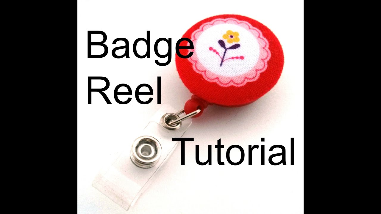 Diy retractable id badge reel tutorial youtube solutioingenieria Choice Image