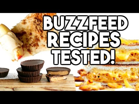 EASY BUZZFEED RECIPES TESTED!