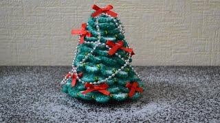 """Новогодняя елочка крючком"" (Christmas tree crochet)"