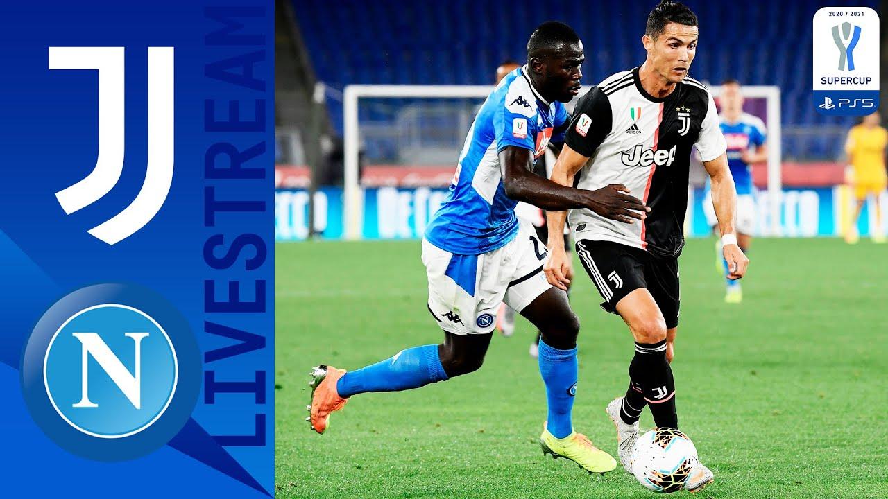 🔴 Juventus v Napoli LIVE | Full Match Live! | PS5 Supercup | Serie A TIM