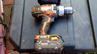Ridgid Drill Review 18v Cordless R86008, R8611501, 1 Year Rough Usage
