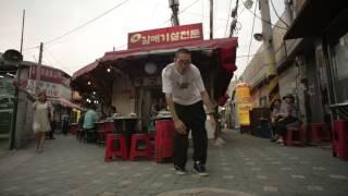 POPPING J in Seoul, South Korea for R16 | YAK FILMS + Tryezz Music