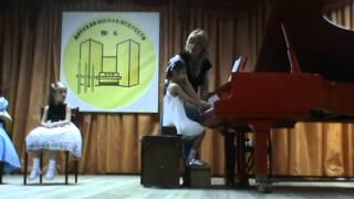 Открытый урок по фортепиано Леоновой Т.А.