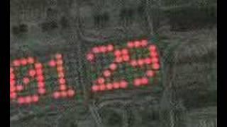 Matrix led clock
