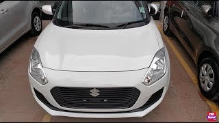 New Swift 2018 White Colour Vxi/Vdi Model Interior,Exterior Walkaround | New Swift White Colour