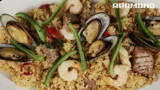 paella en мulticoccin redmond rmc m20e