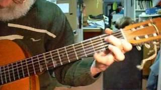 Blues para guitarra española