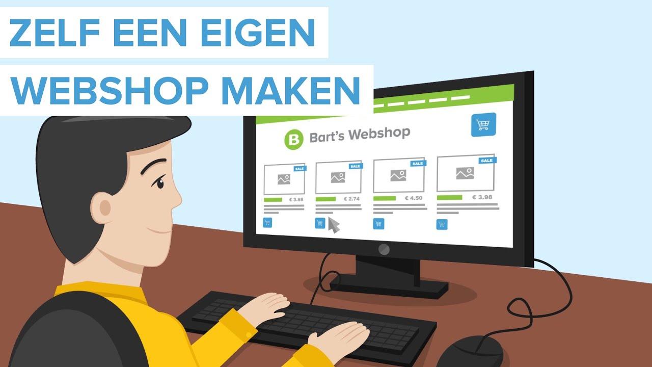 Webshop maken met JouwWeb