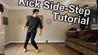 How To Top Rock - Kick Side Step  - FULL Beginners Tutorial