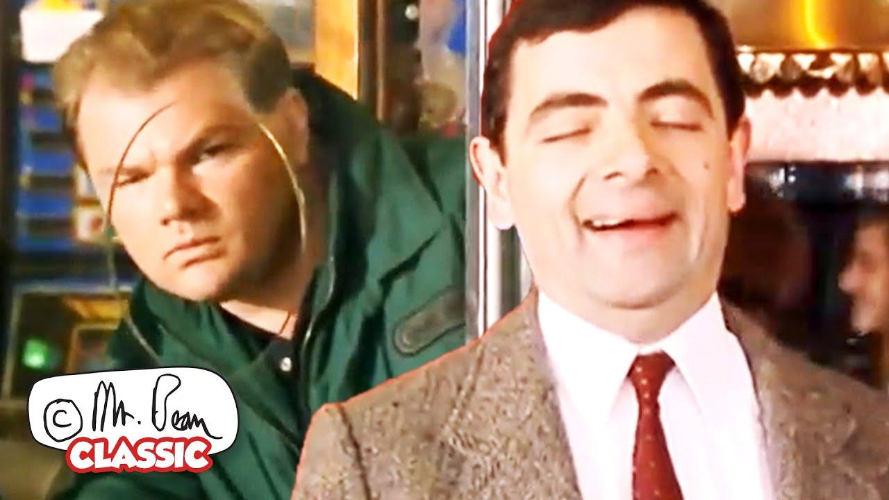 No Cheating... BEAN!   Mr Bean Funny Clips   Classic Mr Bean