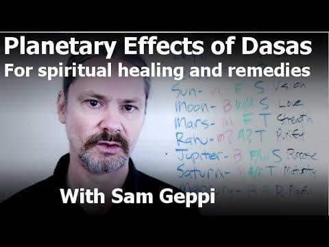 Effects Of Dasa Planets for Spiritual Healing