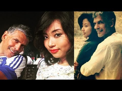 Has 51-yr-old Milind Soman found LOVE in this half age air hostess?