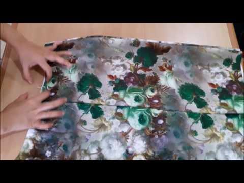 Cara membuat pola dan menjahit rok perempuan dewasa