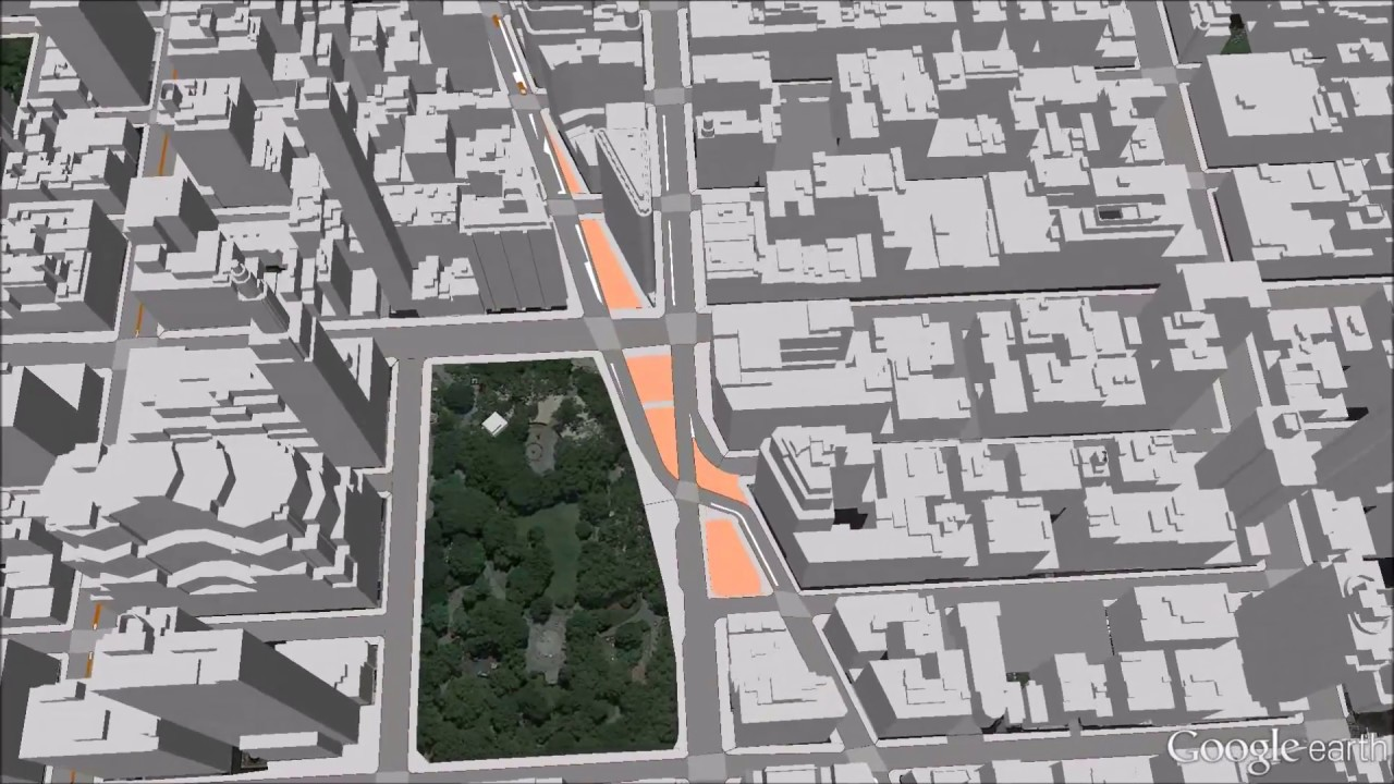 Map Of New York 3d.Digital 3d City Model Of New York City And 3dcitydb Web Map Client Demo