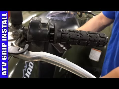 How To Install ATV Hand Grips