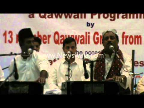 Newswala : Qawal Raziuddin, Fareed Ayaz and 11 others from Pakistan at Salarjung Museum Hyderabad Travel Video