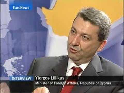 EuroNews -EN- Interview : Yiorgos Lillikas, Cyprus...