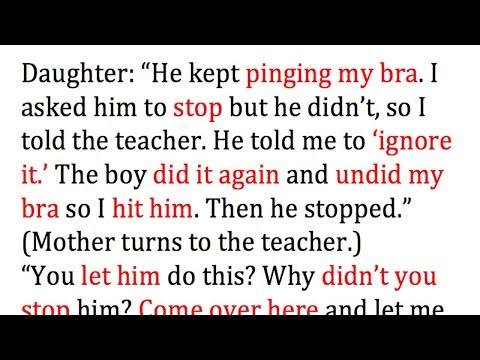Boy Rips Off 15-Yr-Old Girl's Bra, Mother Sees Red And Takes Brilliant Revenge