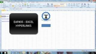 EAF#35 - Excel Hyperlinks