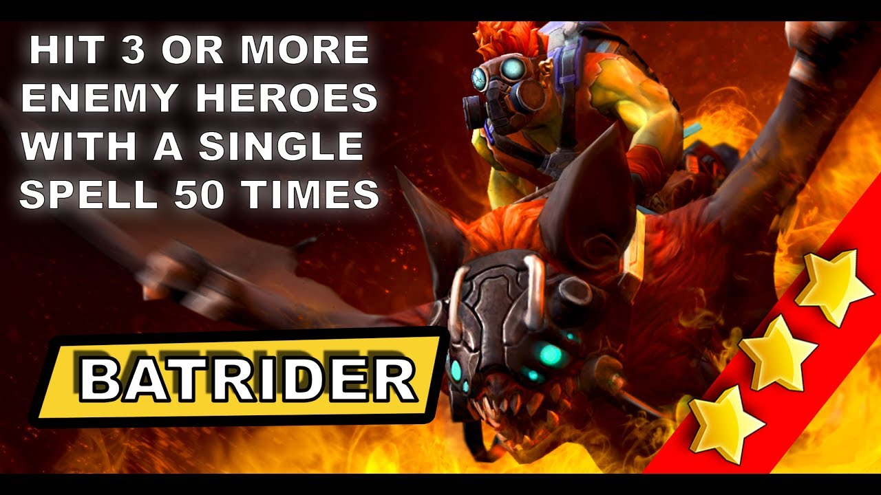 dota 2 batrider press gang hit 3 or more enemy heroes with a