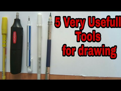 5 Very Usefull Tools For Drawing