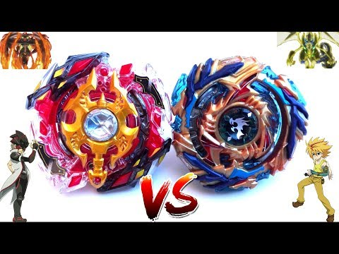 EPIC BATTLE: Legend Spriggan .7.Mr VS Drain Fafnir .8.Nt - Red Eye Vs Free - Beyblade Burst God!!