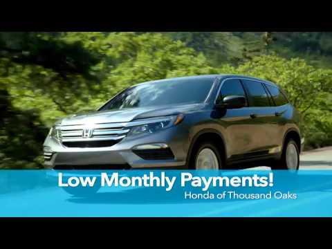Honda Of Thousand Oaks Special Offers TV Spot