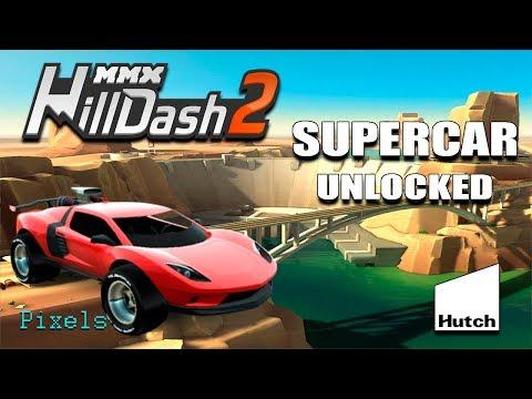 MMX Hill Dash 2 - New Supercar Unlocked