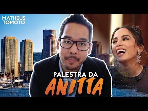 PALESTRA da ANITTA em HARVARD, POLÊMICAS e BARACK OBAMA 🇧🇷👩🏫🇺🇸 | Matheus Tomoto - Brazil Conference
